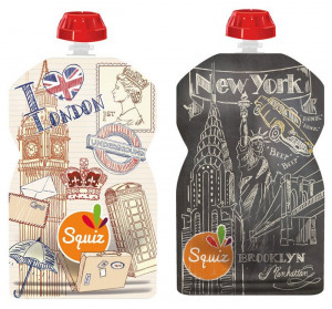 2 gourdes Squiz - London/New York