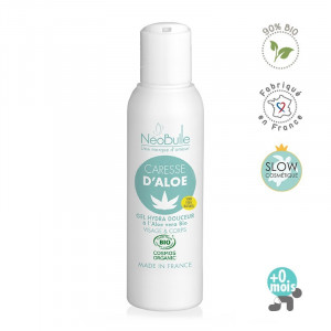 Caresse d'Aloe, gel Aloe Vera Bio 125ml Neobulle