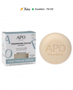 Shampoing solide - Tous types de cheveux - 75g