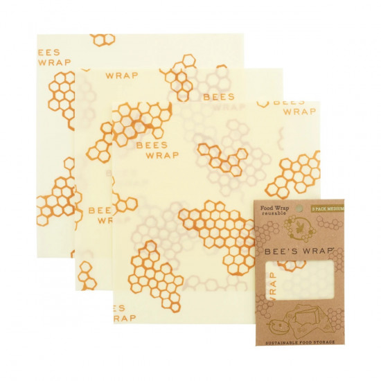 Assortiment Bee's wrap 3 tailles S/M/L
